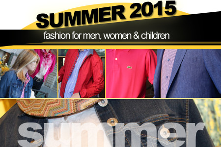 Summer 2015 Fashion from Christie's Clothing in downtown Collingwood