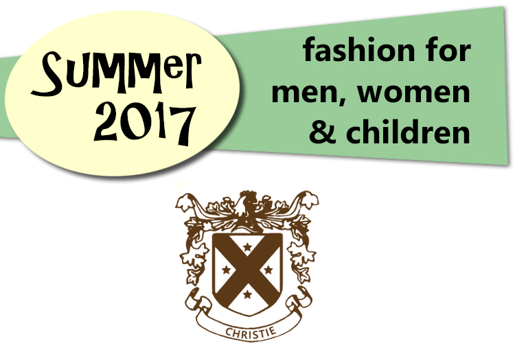 Summer fashion for 2017 from Christie's Clothing