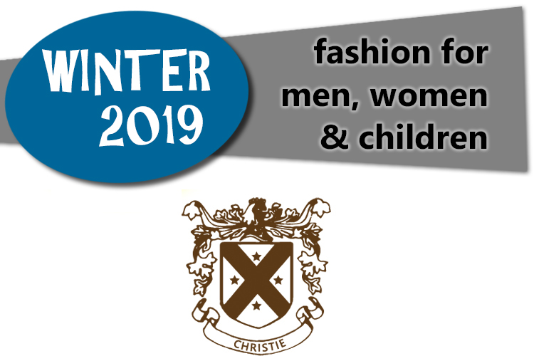 Winter 2019 fashion for men, women and children at Christie's Clothing in downtown Collingwood
