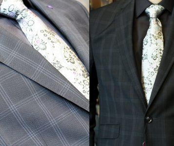 men's suit jackets, suits, slacks, shirts, sweaters and ties from Christie's Clothing in downtown Collingwood