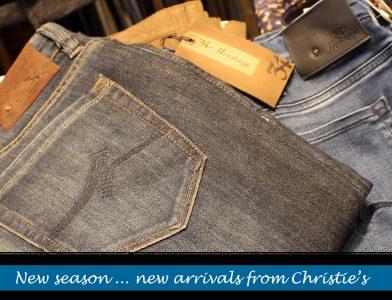 Men's denim from Christie's Clothing