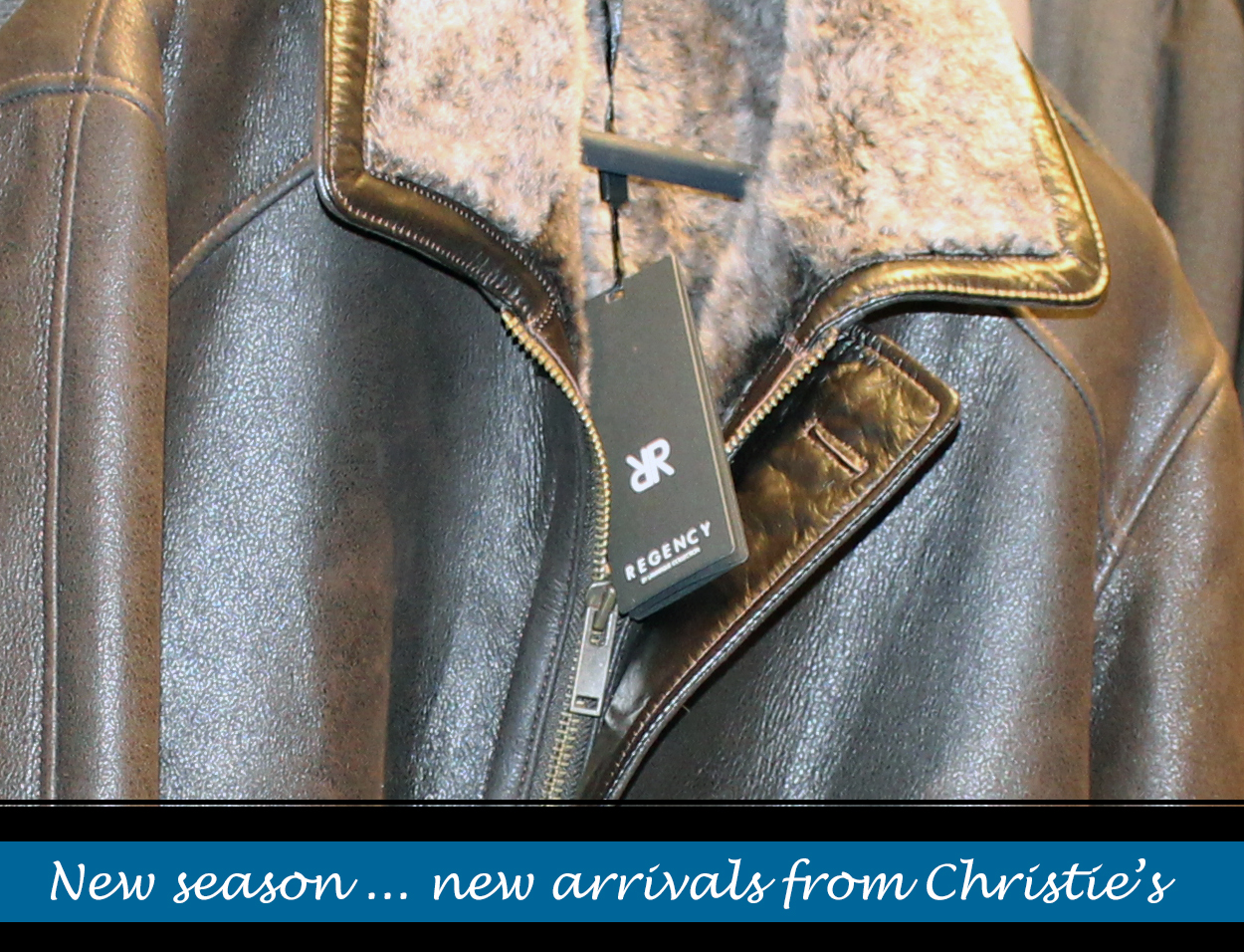 Men's Outerwear for winter 2019 from Christie's Clothing in downtown Collingwood