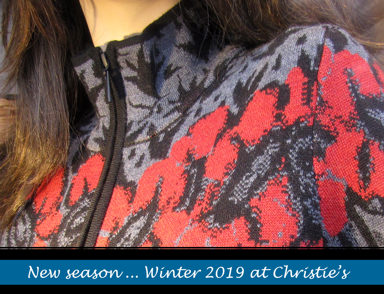 Winter 2019 Ladies fashion from Christie's Clothing in Collingwood